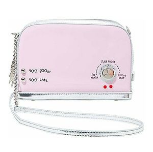 Pink Toaster Betsey Johnson Crossbody